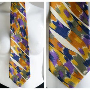 Vintage Missoni Cravatte Silk Colourful Tie